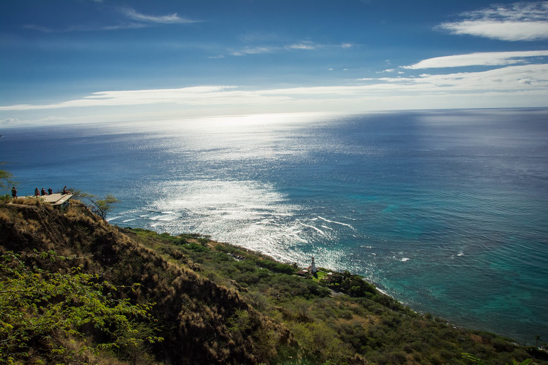 climbing diamond head
