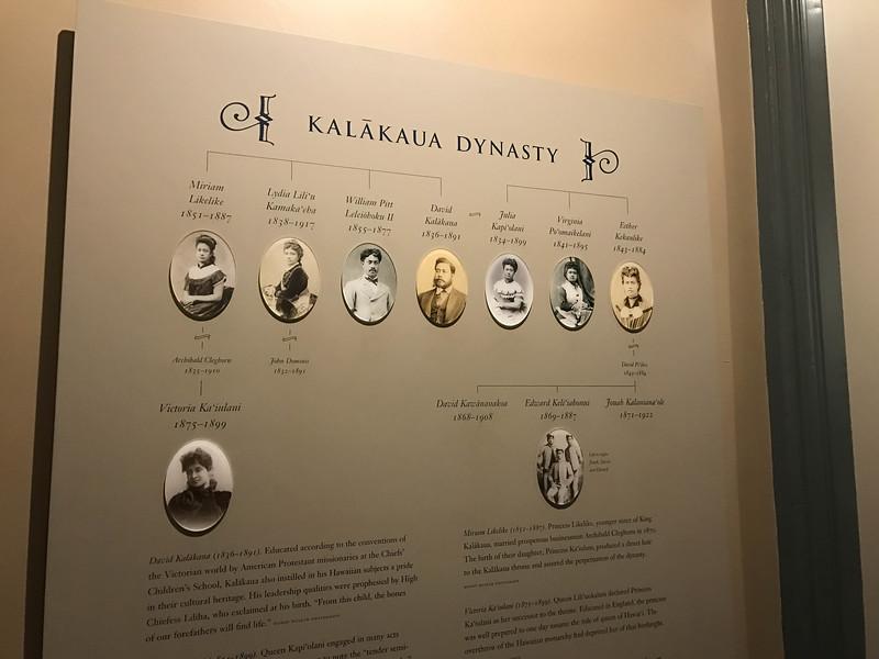 kalakaua dynasty family tree
