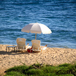 Spot on the Beach – Hulopoe Bay, Lanai, Hawaii – Daily Photo