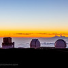 Sunset on Mauna Kea I