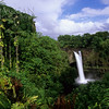 Rainbow Falls near Hilo, Big Island of Hawaii
