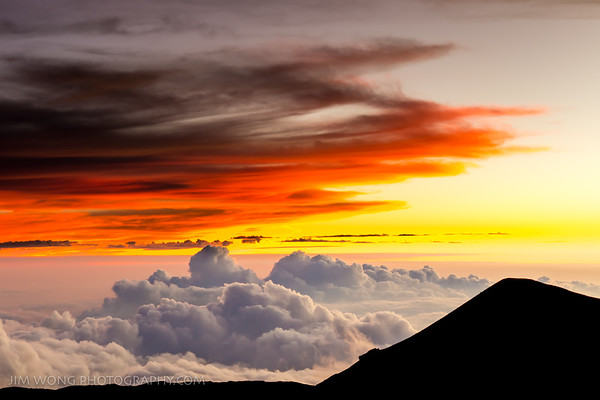 Sunset on Mauna Kea II