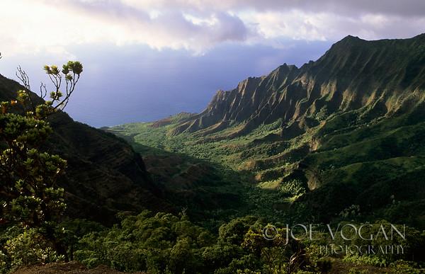 Kalalau Valley, Na Pali Coast, Kauai, Island of Hawaii
