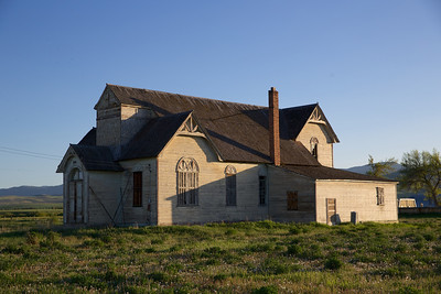 LDS Church, Ovid, Idaho