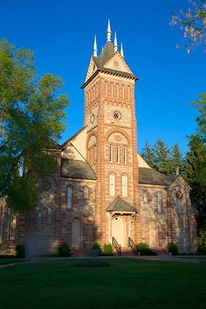 LDS Tabernacle, Paris, Idaho