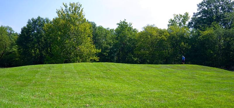 Royal burial mound