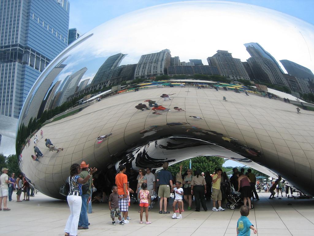"""The Bean"" / Cloud Gate - Chicago, Illinois"