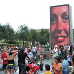 """The Screen"" in Millennium Park – Chicago, Illinois – Daily Photo"