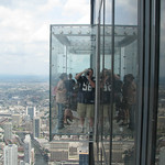 The Ledge – Willis Tower (Sears Tower) Sky Deck – Chicago, Illinois – Daily Photo