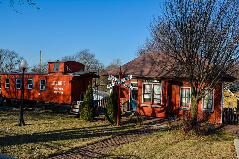 danish influence elk horn train station