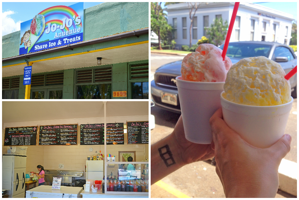 Shave Ice in Kauai Hawaii