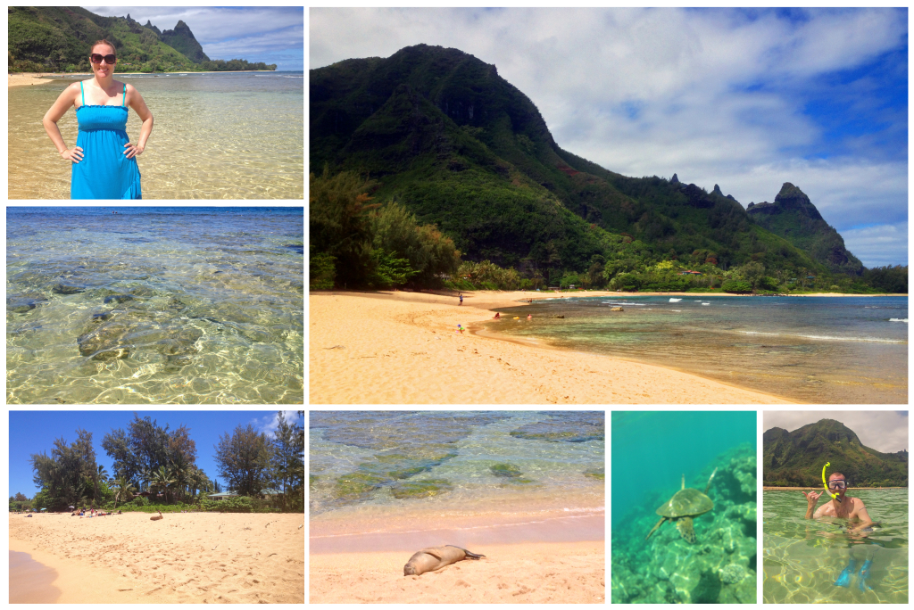 Best Beach in Kauai - Tunnels Beach