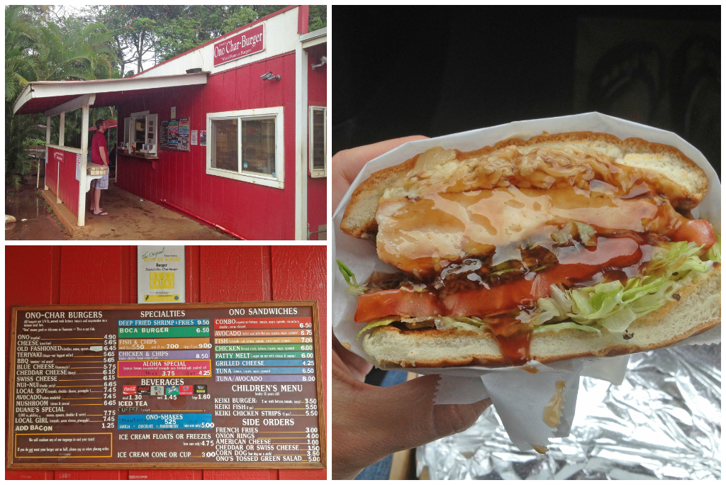 Duane's Ono Char-Burger - Places to Eat in Kauai
