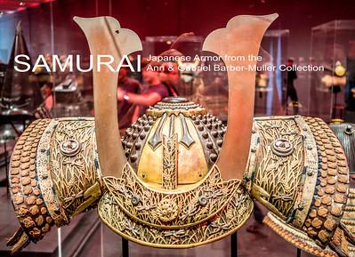 LACMA: Japanese Armor Exhibit