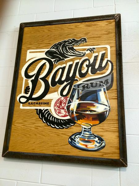 Bayou Rum tour