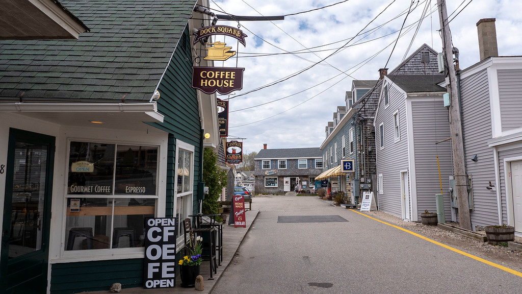 Dock Square Coffee House Kennebunkport Maine