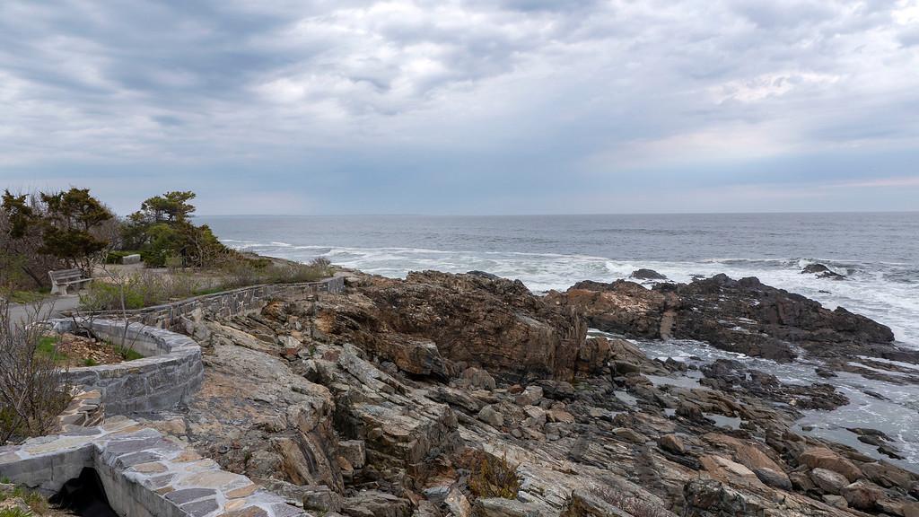 Maine Beaches: Marginal Way trail in Ogunquit