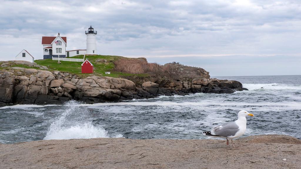 Maine Beaches: Nubble Light