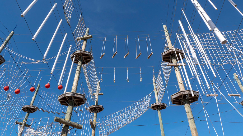 Maine Beaches: Take Flight Aerial Adventure Park and Rope Course