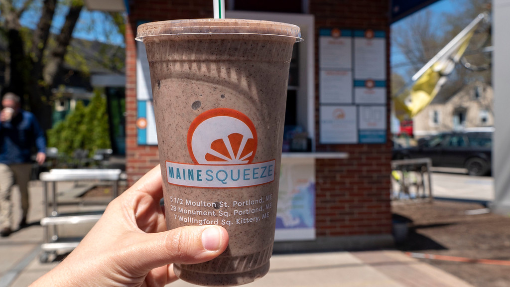 The Maine Squeeze Smoothies