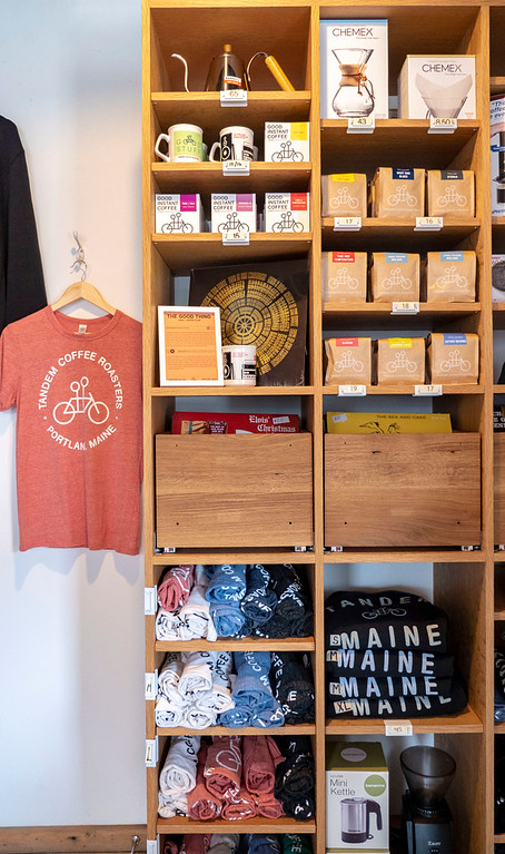 Tandem Coffee Roasters: Best coffee shops in Portland Maine