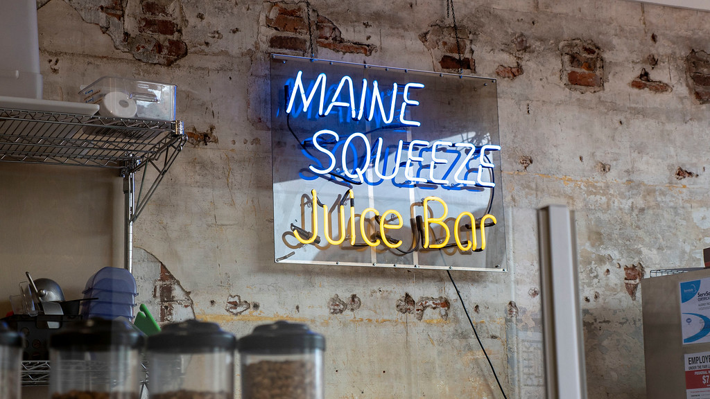 Vegan Portland Maine Guide: Maine Squeeze Juice Bar
