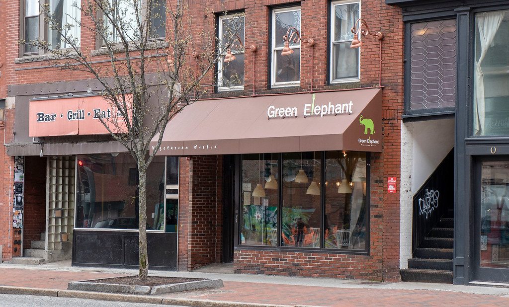 Vegan Portland Maine Guide: Green Elephant Vegetarian Bistro