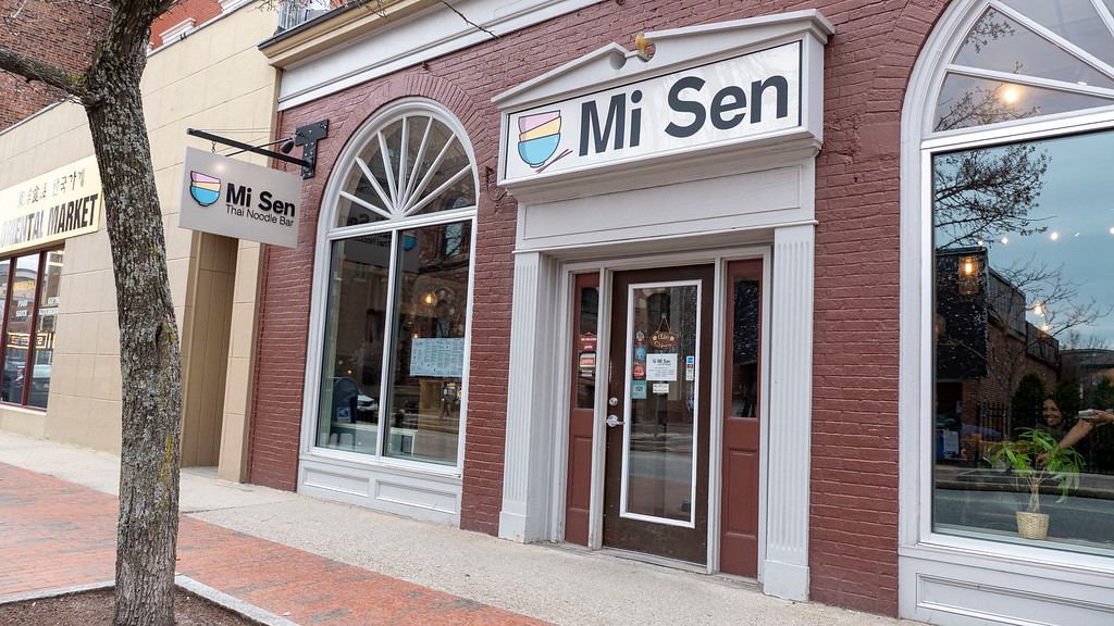 Vegan food in Portland Maine: Mi Sen