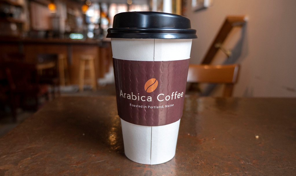 Best coffee shops in Portland Maine : Arabica Coffee House
