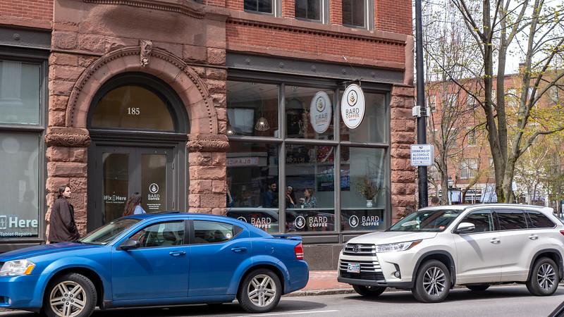 Downtown Portland coffee shops: Bard Coffee