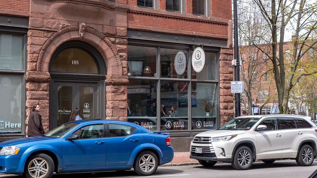 Downtown Portland coffee shops: Bard Coffee