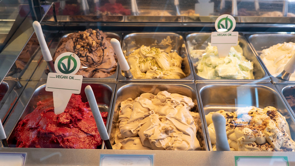 Vegan ice cream in Portland Maine