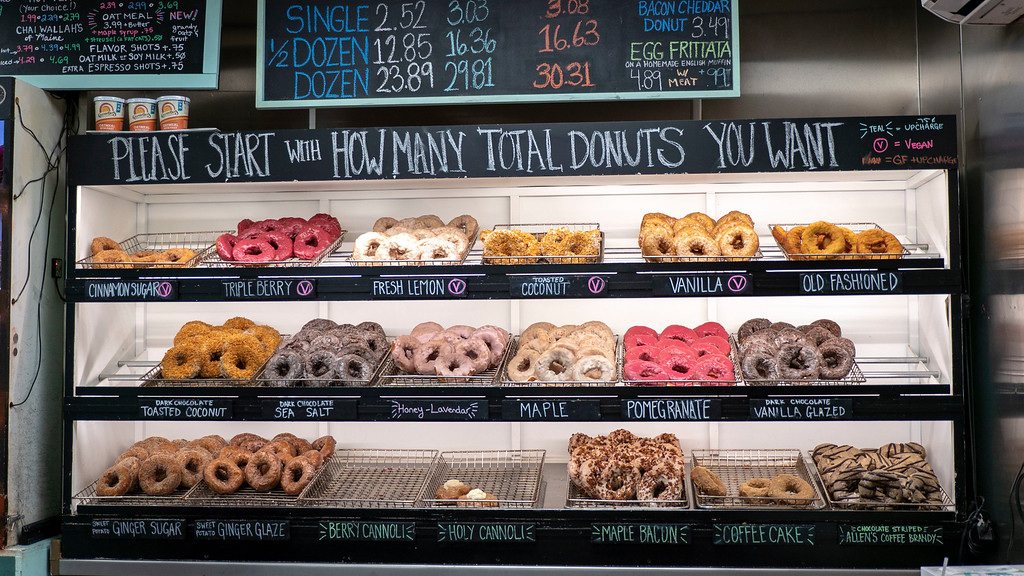 Where to eat in Portland Maine: The Holy Donut
