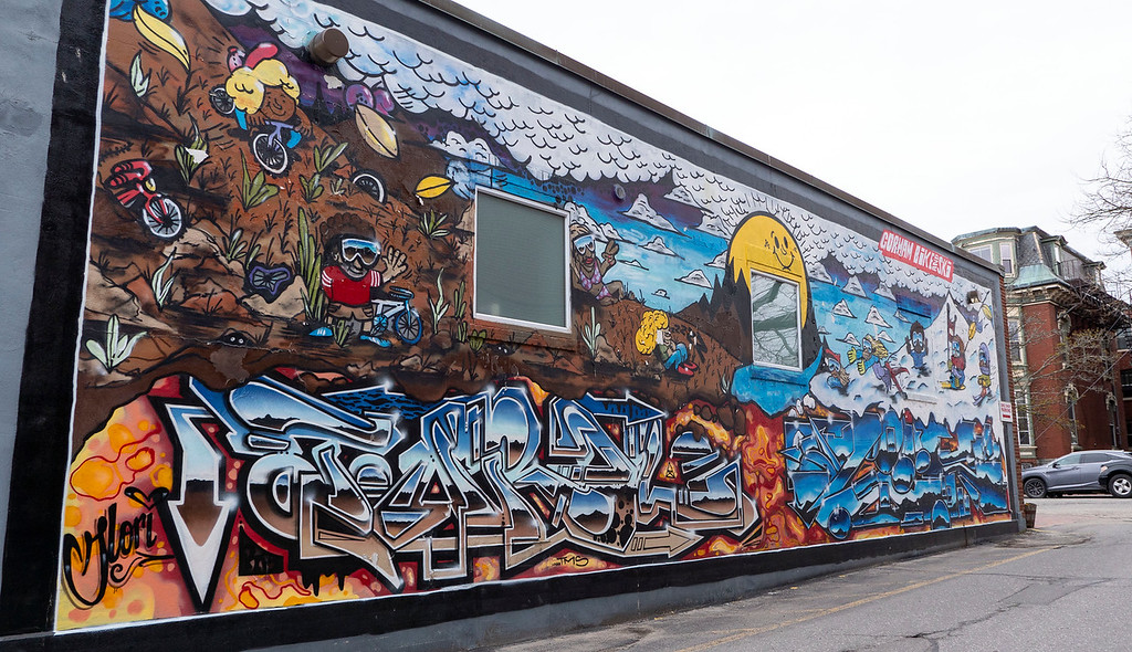 Street art in Portland Maine