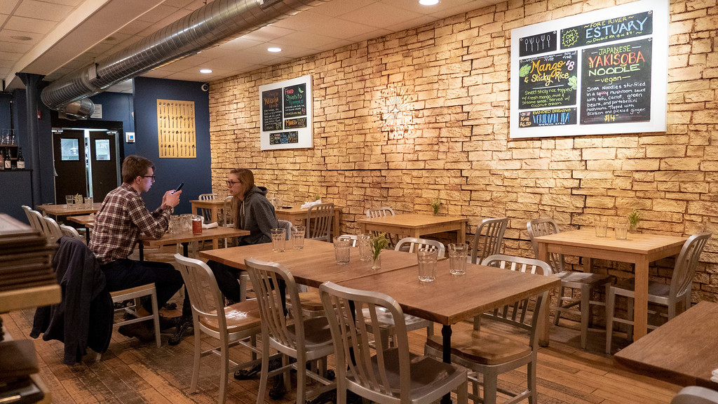 Where to eat in Portland Maine: Green Elephant Vegetarian Bistro