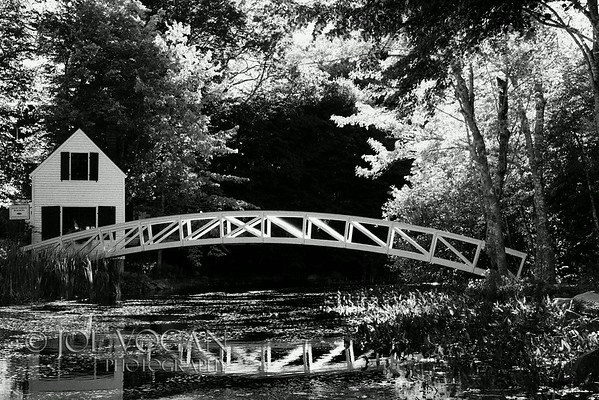 Somesville Footbridge, Somesville, Mount Desert Island, Maine