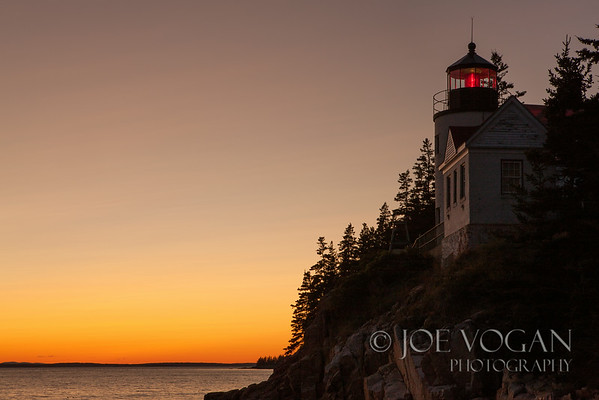 Bass Harbor Head Lighthouse, Acadia National Park, Mt. Desert Island, Maine
