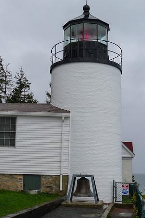 Mount Desert Island, Maine Bass Harbor Head Light on the tip of Mount Desert Island