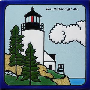 Bass Harbor Light, ME tile