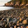 Sunrise at Boulder Beach near Otter Point, Acadia National Park, Mt. Desert Island, Maine