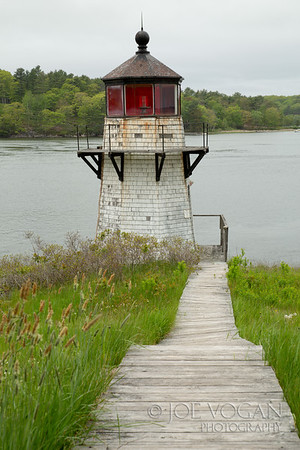 Squirrel Point Light, Arrowsic Island, Kennebec River, Maine