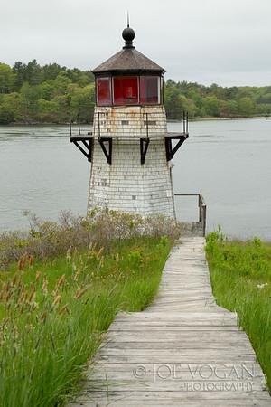 Squirrel Point Light, Arrowsic Island, Kennebec River, Maine