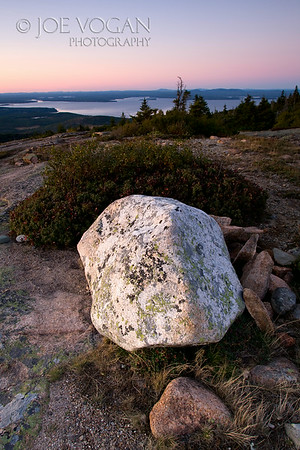 Cadillac Mountain View, Mt. Desert Island, Acadia National Park, Maine
