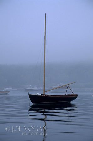 Sailboat, Seal Harbor, Acadia National Park, Maine