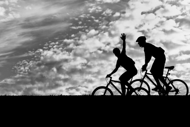 Cycling in Alviso, San Jose, CA