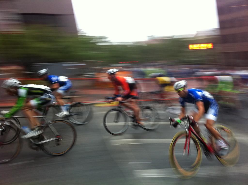 Bike Race - Boston, Massachussets