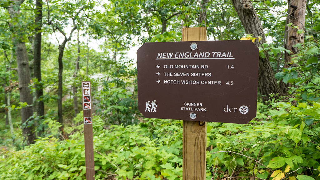 The New England Trail - Skinner State Park