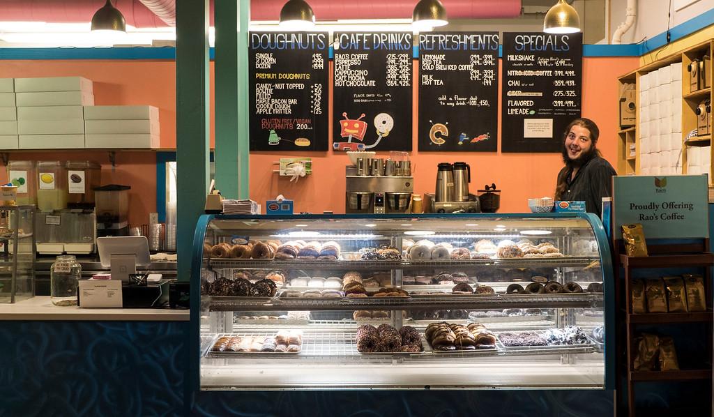 Glazed Doughnut Shop