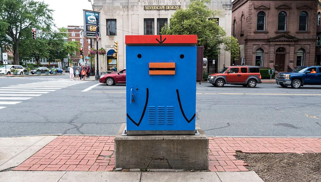 Street art in Northampton MA