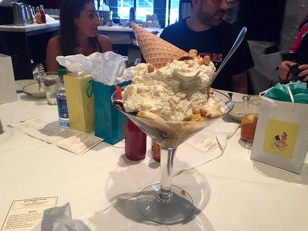 Dessert at Manny's Steakhouse
